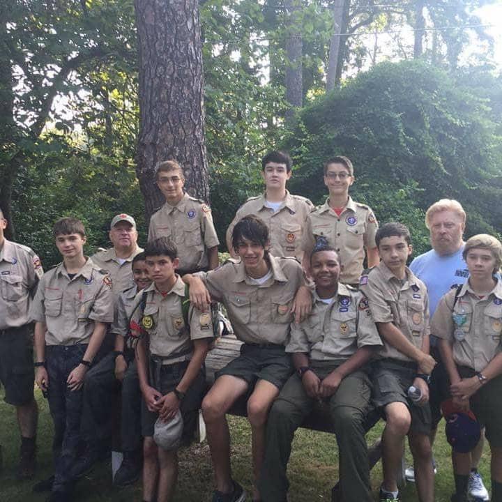 Boy Scout troop 324 Bethel UMC Columbia